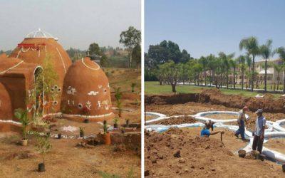 Eco-dômes : des maisons éco-responsables en forme de dôme au Maroc